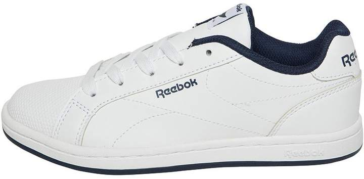 Reebok Classics Boys Royal Complete Clean Trainers White/Collegiate Navy
