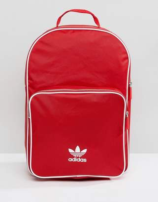 adidas adicolor Backpack In Red CW0636