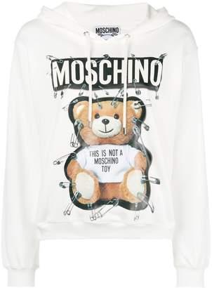 Moschino teddy bear hoodie
