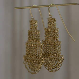 Kate Wood Jewellery Large Pagoda Earrings