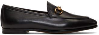 Gucci Black Jordaan Loafers