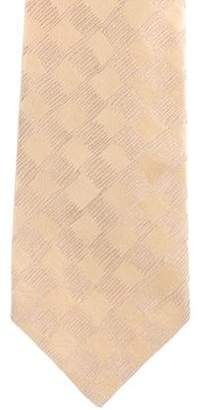 Charvet Checkered Silk Tie