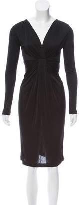 Diane von Furstenberg Long Sleeve Midi Dress w/ Tags