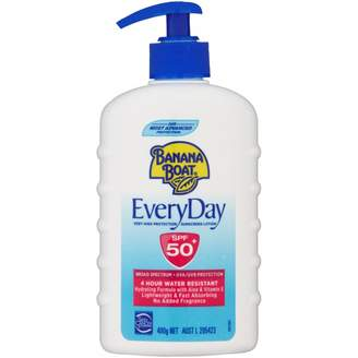 Banana Boat EveryDay SPF 50+ Sunscreen Pump 400 g