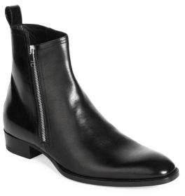 Saint Laurent Wyatt Zippered Boots