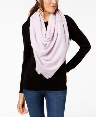 INC International Concepts I.n.c. Ombre Metallic Foil Oversized Square Scarf, Created for Macy's