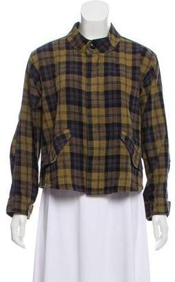 The Great Plaid Long Sleeve Jacket
