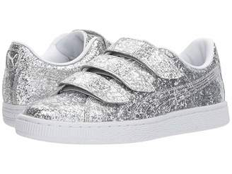 Puma Basket Strap Glitter Women's Shoes