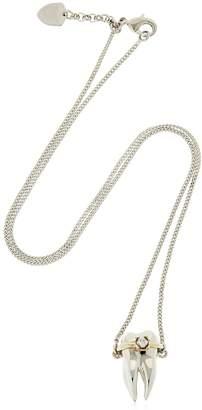 Schield Teeth Brackets Necklace