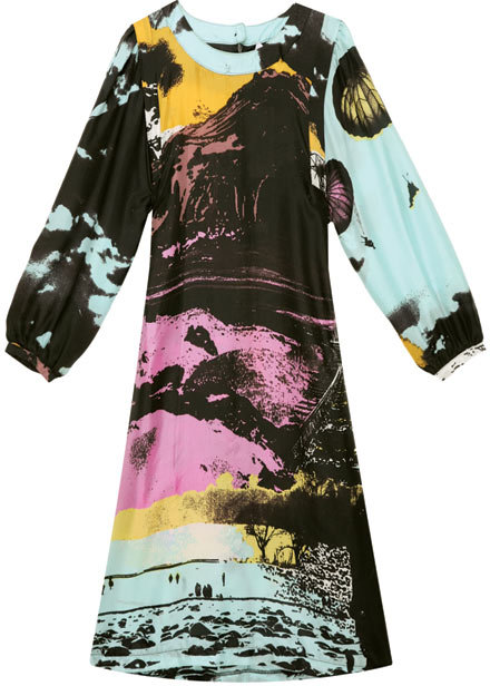 See by Chloé Silk Printed Dress