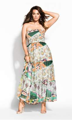City Chic Citychic Bilbao Maxi Dress - ivory