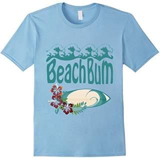 Beach Bum Shirt - Surfboard & Waves Summer Fun Tee