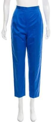 Kenzo High-Rise Straight-Leg Pants