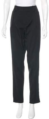 Anthony Vaccarello Virgin Wool Skinny Pants