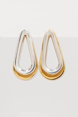 Annelise Michelson Ellipse two-toned double earrings