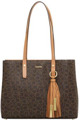 Calvin Klein Maggie Double Handle Tote Bag