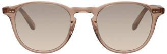 Garrett Leight Pink Hampton Sunglasses