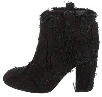 Laurence Dacade Paris Woven Ankle Boots