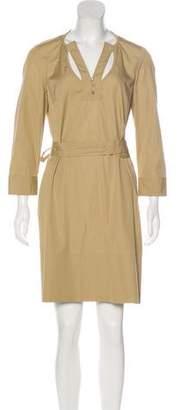 Givenchy Long Sleeve Shift Dress
