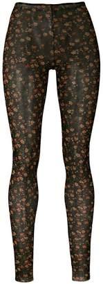 DSQUARED2 floral print leggings