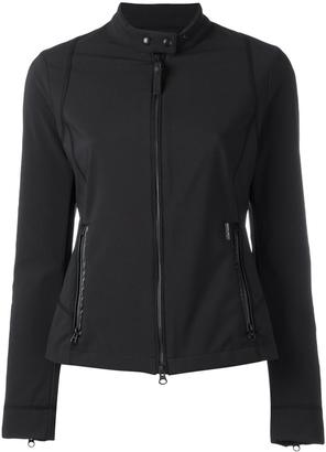 Woolrich banded collar zipped jacket $310.68 thestylecure.com
