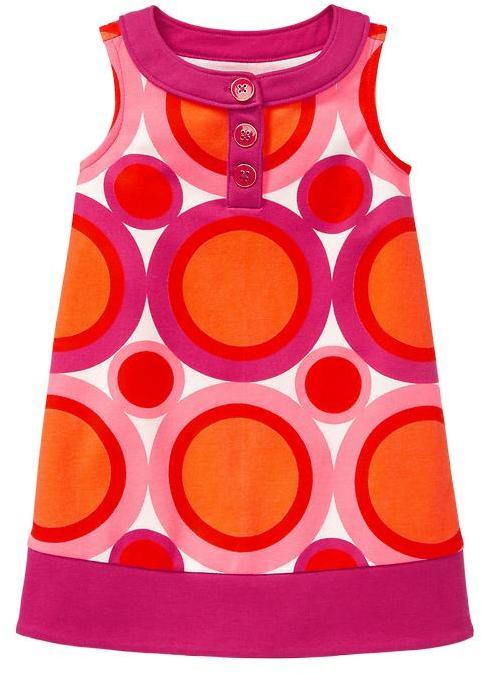 Gap Circle print ponte dress