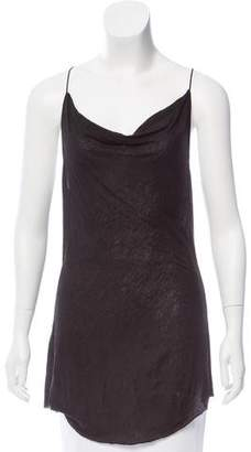 Kimberly Ovitz Sleeveless Cowl Neck Top