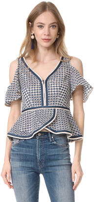 Nanette Lepore High Seas Top $348 thestylecure.com