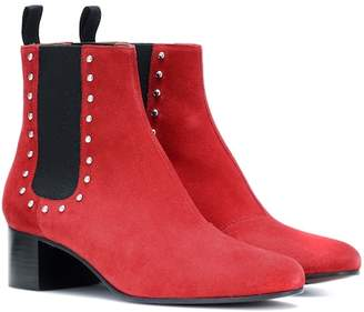 ALEXACHUNG Suede ankle boots