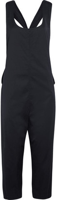 DKNY - Stretch-crepe Jumpsuit - Navy $500 thestylecure.com