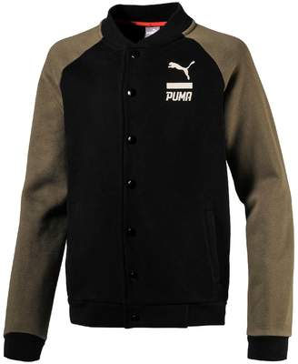 Puma Baseball-Style Jacket, 4 - 16 Years