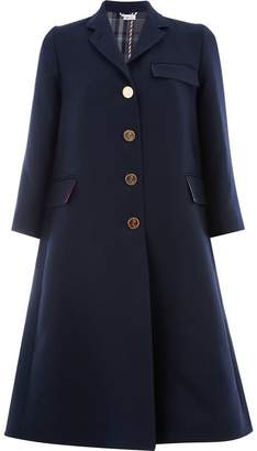 Thom Browne unlined Swing coat