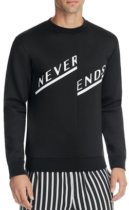 McQ Alexander McQueen Never Ends Graphic Pullover $245 thestylecure.com