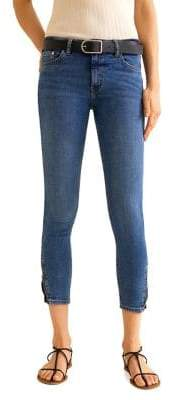 MANGO Isa Cropped Skinny Jeans