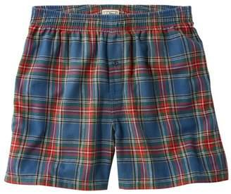 L.L. Bean L.L.Bean Men's Scotch Plaid Flannel Boxers