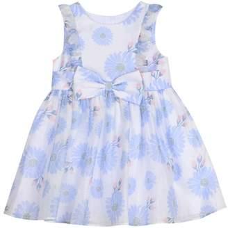 Pippa & Julie Floral Bow Front Dress (Toddler Girls, Little Girls & Big Girls)
