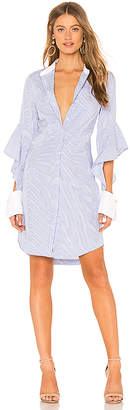 Rebecca Vallance Cassia Stripe Shirt Dress