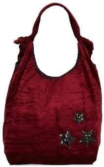 Steve Madden Embellished Hobo Bag