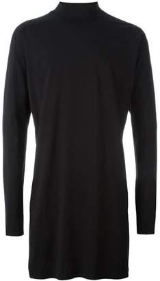 Y-3 slit long sleeved sweatshirt
