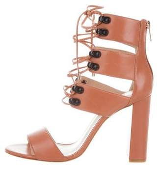 Ruthie Davis French Lace-Up Sandals