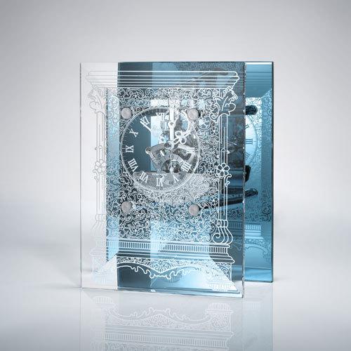 Innermost Floridium Crystal Clock