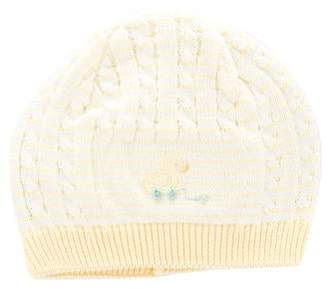 Florence Eiseman Girls' Patterned Knit Beanie w/ Tags