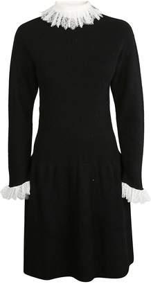 Philosophy di Lorenzo Serafini Lace Knitted Dress