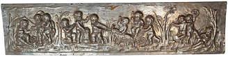 One Kings Lane Vintage 19th C. Silver Gilt Panel with Cherubs