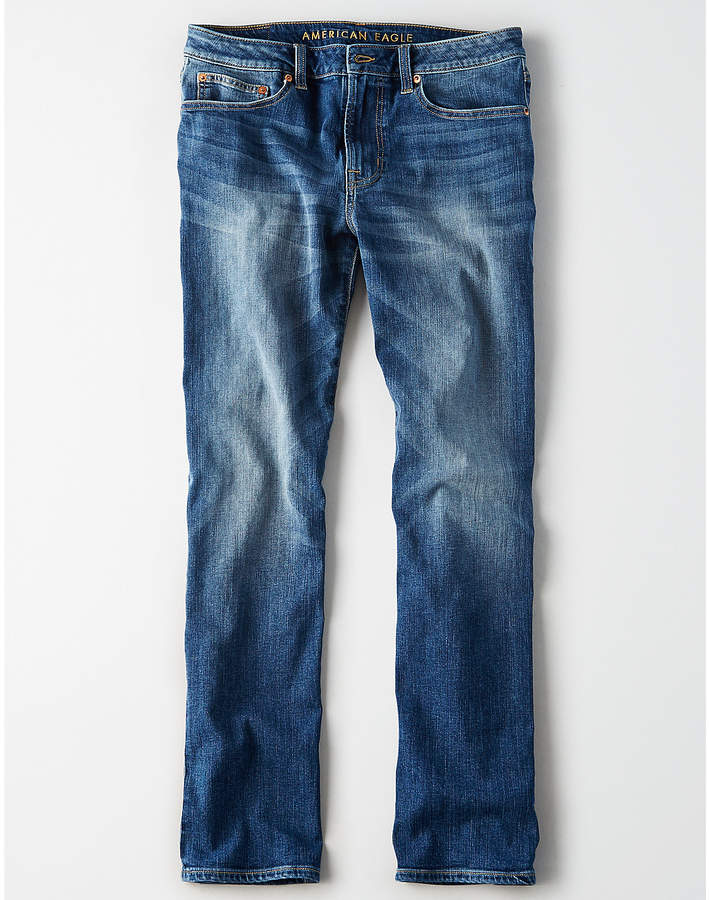 Aeo AE Flex Relaxed Straight Jean