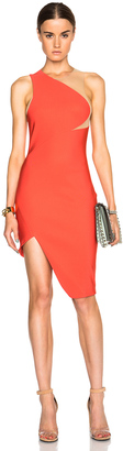 Mugler Mega Milano One Shoulder Dress $1,845 thestylecure.com