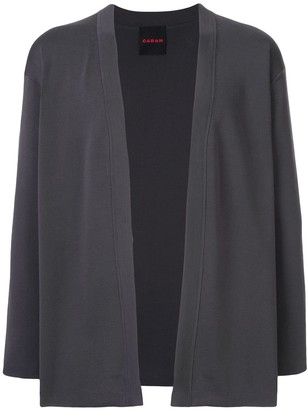 Caban open front cardigan