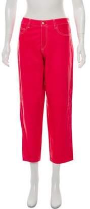Ralph Lauren Mid-Rise Leather Pants w/ Tags