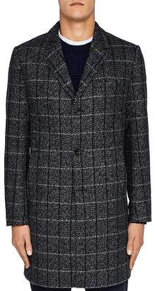Ted Baker Ando Checked Overcoat