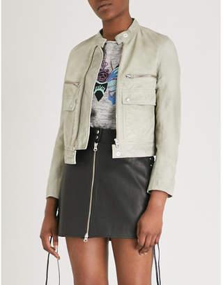 Zadig & Voltaire Love leather jacket